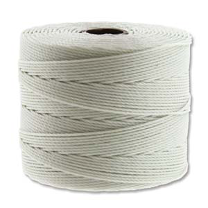 Fine Nylon Knotting Cord Cream 118yard