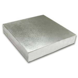"Steel Bench Block 4""x4""x1/2"""
