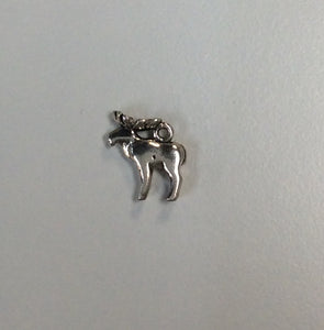 Sterling Silver Charm, Moose Small
