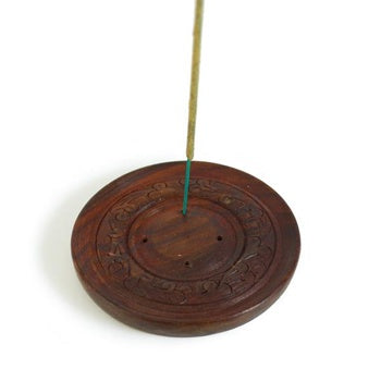 Incense Stick Burner Plate holds 4 at a time