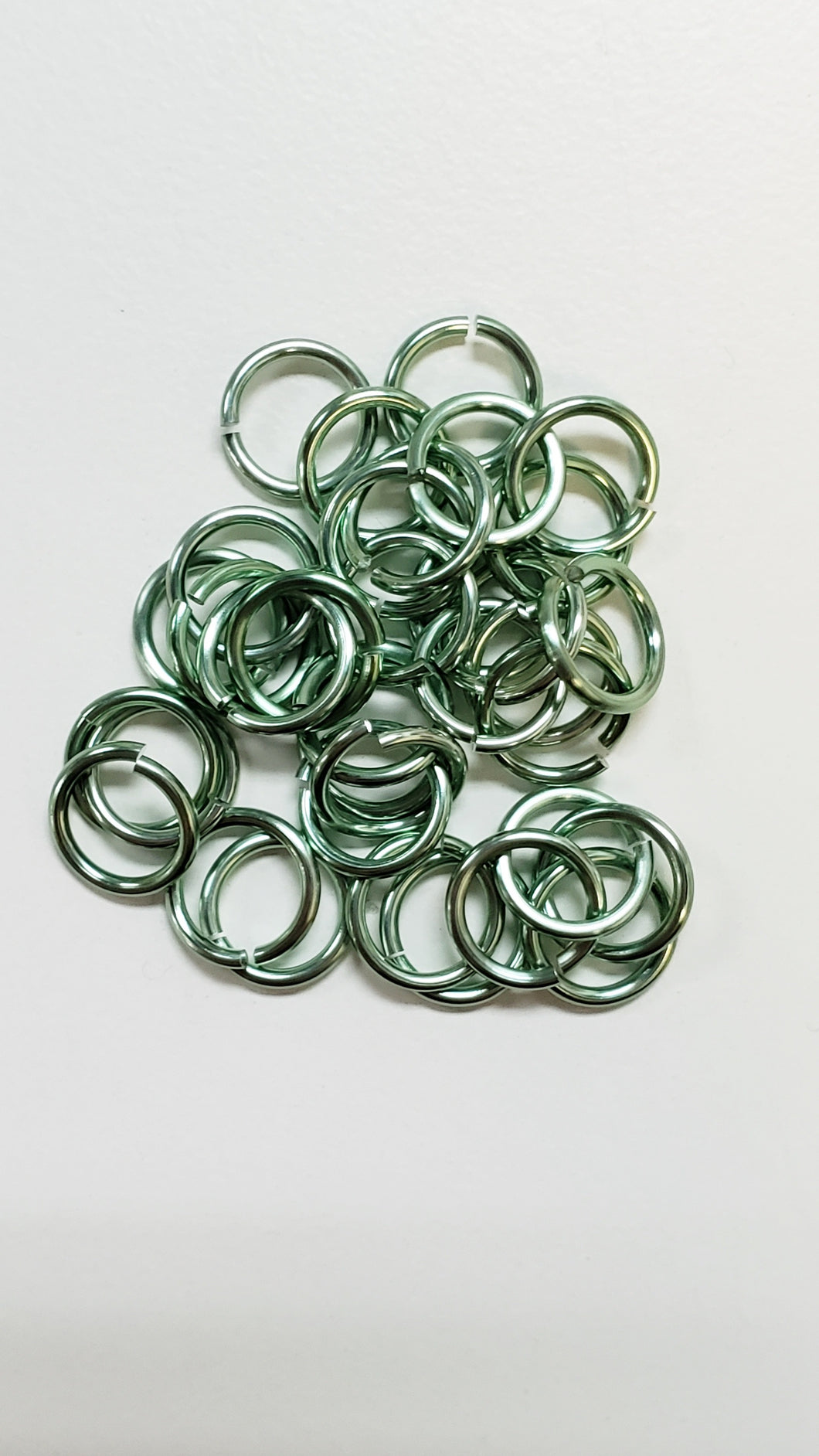 Jump Rings 100pcs Seafoam 5/32