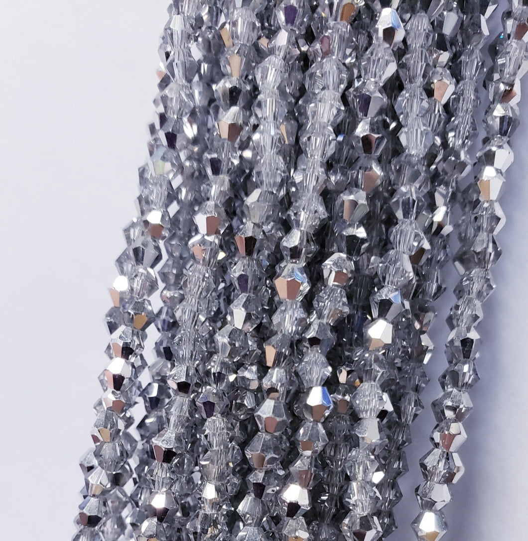 6MM BICONE CRYSTAL STRAND 10.5