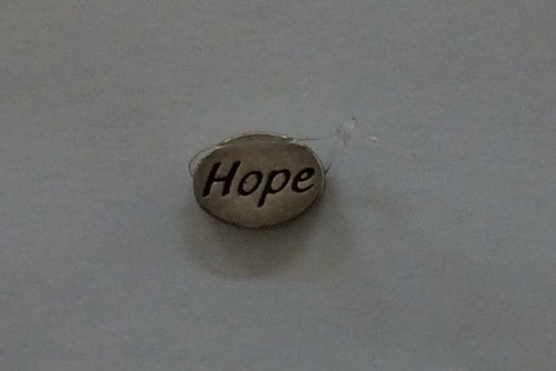 Sterling Silver Bead, Hope