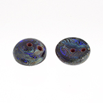 Piggy Beads 50pcs Tr. Dark Blue Travertine