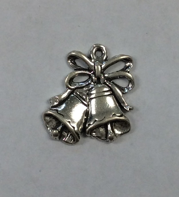 Sterling Silver Charm, Bells
