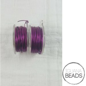 AMETHYST Wire - Wire Wrapping Wire - Copper Core - Non-Tarnish - Parawire -Choose Gauge