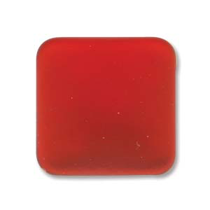 Lunasoft 17mm Square Cabochon Cherry