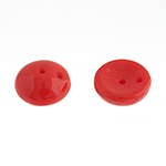 Piggy Beads 50pcs Red Alabaster