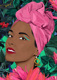Pink Headscarf - Handsome Girl Pretty Boy