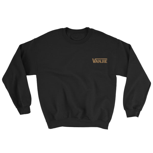 Vanjie Old Gold Thread Embroidered Sweatshirt
