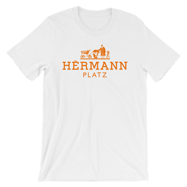 Orange Hermannplatz Unisex T-Shirt