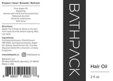 Bathpack Hair Oil
