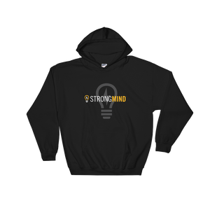 StrongMind Light Bulb Front Pocket Hoodie
