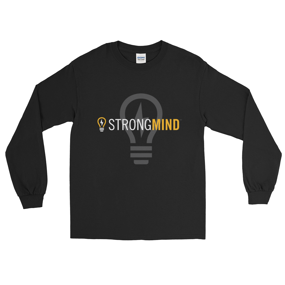 StrongMind Light Bulb Unisex Long Sleeve Tee
