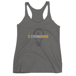 StrongMind Light Bulb Women's Racerback Tank