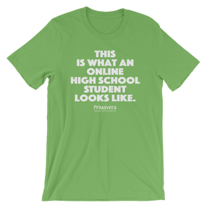 'Online High School Student' Unisex T-Shirt