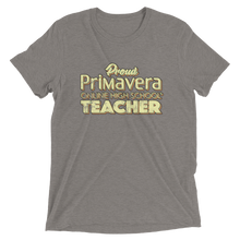 Proud Primavera Teacher Vintage Style t-shirt