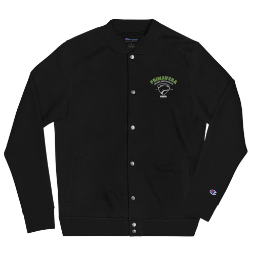 Primavera Online High School Embroidered Bomber Jacket