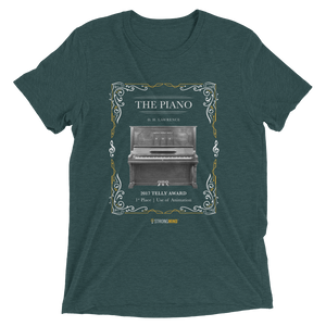 """The Piano"" Unisex t-shirt (Award Winner Series)"