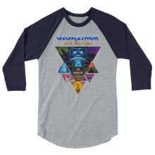 """Geomethor"" 3/4 sleeve raglan shirt (Award Winners Series)"