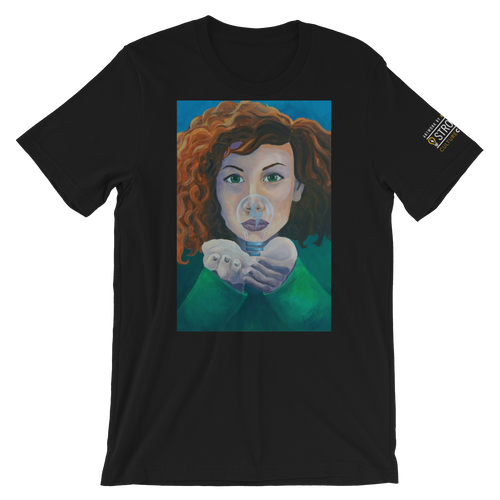 'Harness Creativity' by Kathryn Dutchin | Unisex T-Shirt | StrongMind Culture Collection