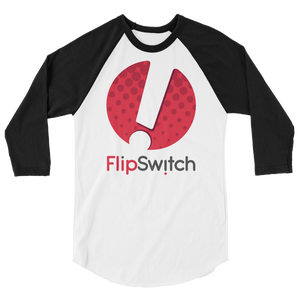FlipSwitch 3/4 sleeve raglan shirt