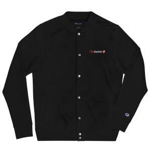 FlipSwitch Embroidered Bomber Jacket