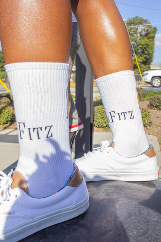 MxFitz Socks - White