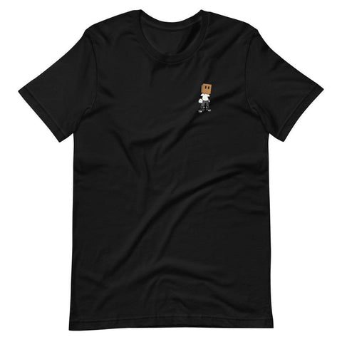 Mini Logo Short-Sleeve Unisex T-Shirt