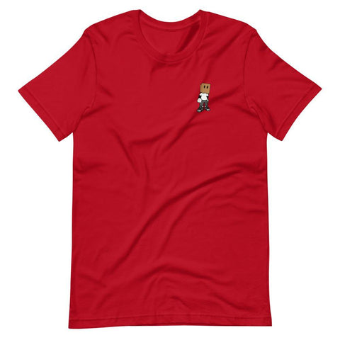 Mini Logo Short-Sleeve Unisex T-Shirt - MxFitz Brand