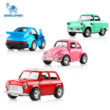 1:38 Alloy Car Pull Back Diecast Model Toy Sound light Collection Brinquedos Car Vehicle Toys For Boys Children Christmas Gift
