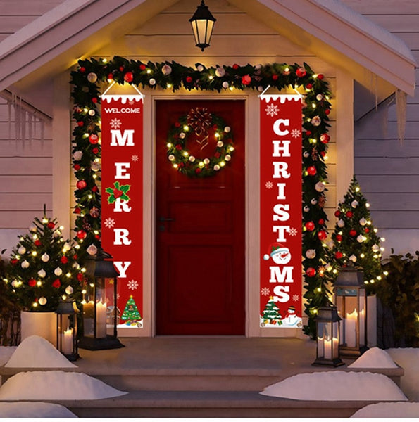 2019 Merry Christmas Decorations for Home Cristmas Decor Ornaments Christmas Banner Outdoor Christma Navidad Happy New Year 2020