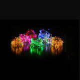 2M 3M 5M Copper Led Fairy String Lights CR2032 Button Battery Operated Party Wedding Decoration Christmas Flasher Fairy Lights