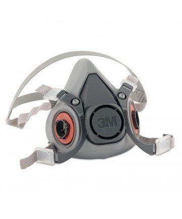 3M 6000 Reusable  Respirators Large 1/2 Mask.