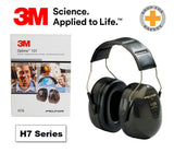 3M™ PELTOR™ Optime™ 101 Earmuffs, H7A, over-the-head