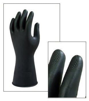 G17K Natural Rubber Latex Safety Gloves Sold by 12 Pairs