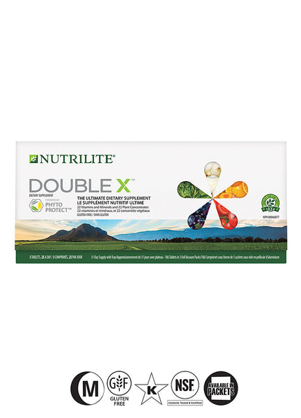 Nutrilite® DOUBLE X Vitamin/ Mineral/ Phytonutrient Supplement - 31-Day Refill