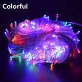 AIFENG Outdoor christmas led string lights 100M 20M 10M 5M Luces Decoracion fairy light holiday lights lighting tree garland