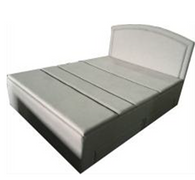 Queen size bed without the mattress B002-Q3   Wire Control and Without massage