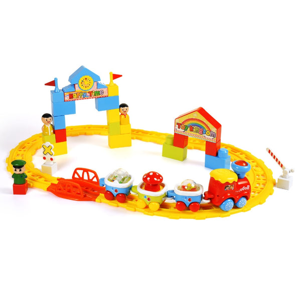 BAOLI Newest Railway Track Train Children's Educational toys Assembly Electric Train toys for Children Christmas Gifts