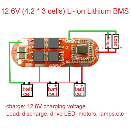 3s Bms Wiring Diagram  Bms System, Bms Controls, Bms