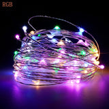 Battery Led String Light 2M 5M 10M 3*AA Battery Operated Garland Outdoor Indoor Home Christmas Decoration fairy Light Led Strip