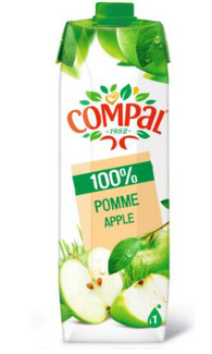 COMPAL 100% APPLE 12x 1Lt case