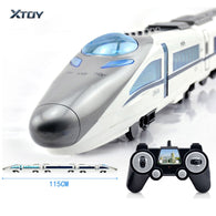 CRH-380A RC Train Toys Electric Express Remote Control Train China Railway High-speed Trains Model RC Toys for Children Gifts