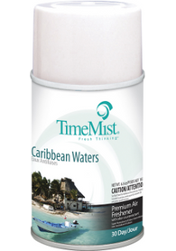 Premium Metered 30 Day Air Freshener 150gx12 - Caribbean Waters