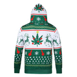 Christmas Sweater Men Hooded Sweater 3d Digital Printing Large Size Hoodie Sexy Creative  long sleeve hooded  New Year costume
