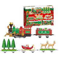 Classic Train Toy Set Christmas Electric Train Toy Set For Children Early Education Toy For Gift