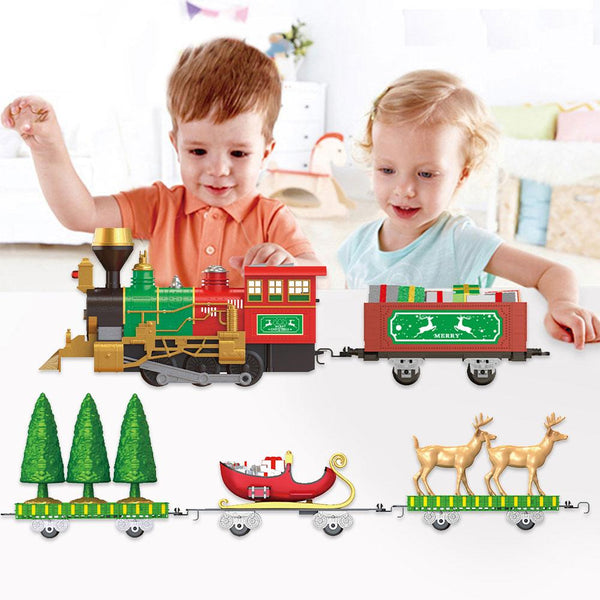Classic Train Toy Set Christmas Electric Train Toy Set For Children Early Education