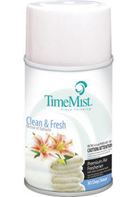 Premium Metered 30 Day Air Freshener 150gx12 - Clean & Fresh