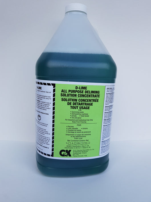 D-Lime All Purpose Deliming Solution Concentrate 4L